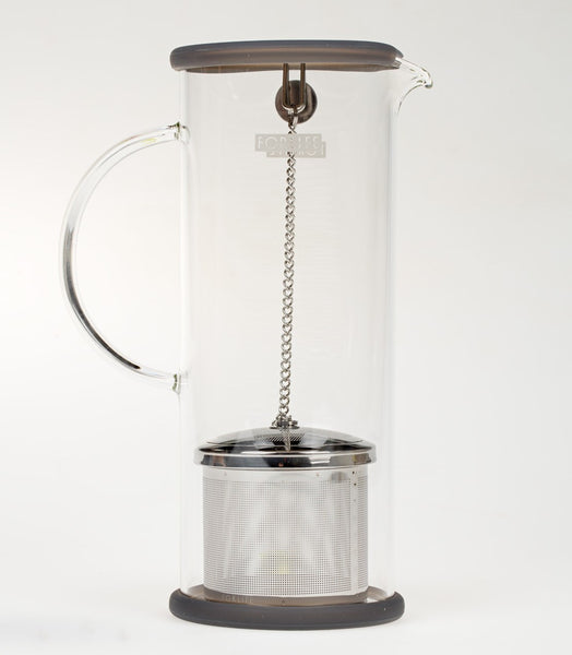Lucent Glass Iced Tea Jugs with Capsule Infuser (Multiple Colors)