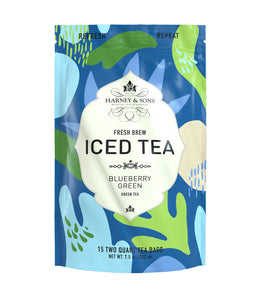 Blueberry Green Fresh Brew Iced Tea -   - Harney & Sons Fine Teas