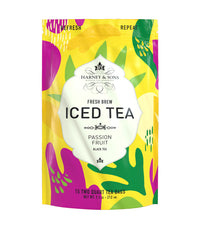 Passion Fruit Fresh Brew Iced Tea - Iced Tea Pouches Bag of 15 Pouches - Harney & Sons Fine Teas
