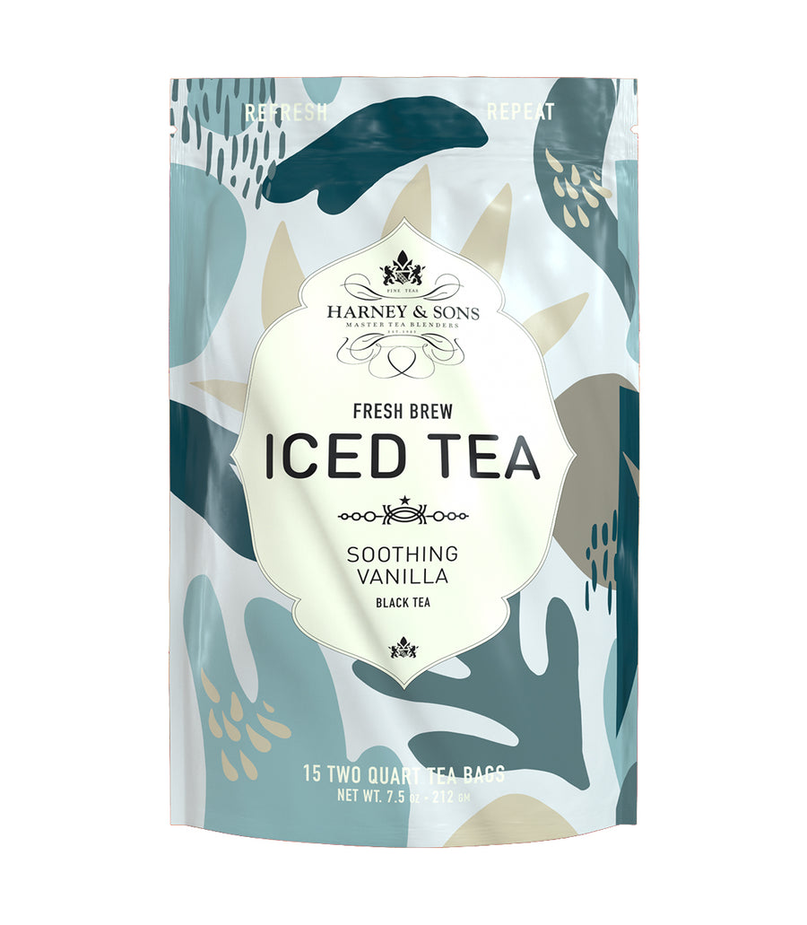 Soothing Vanilla Fresh Brew Iced Tea -   - Harney & Sons Fine Teas