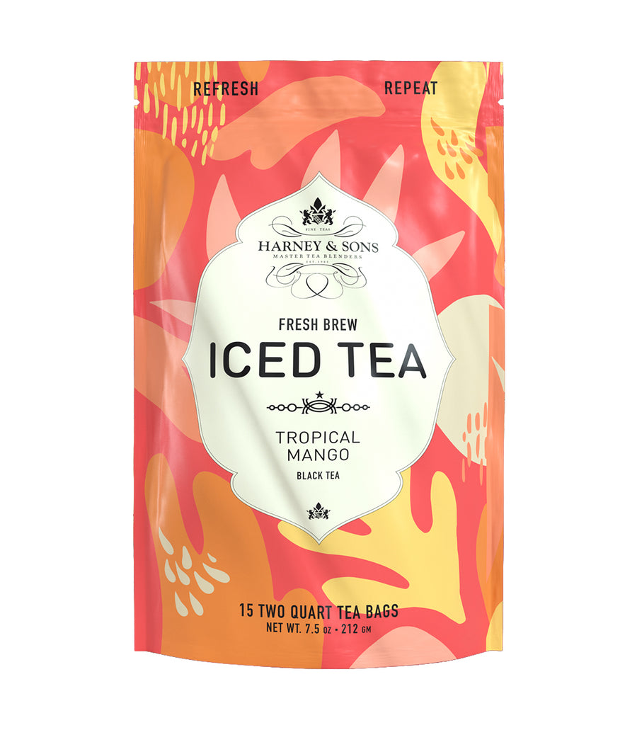 Tropical Mango Fresh Brew Iced Tea -   - Harney & Sons Fine Teas