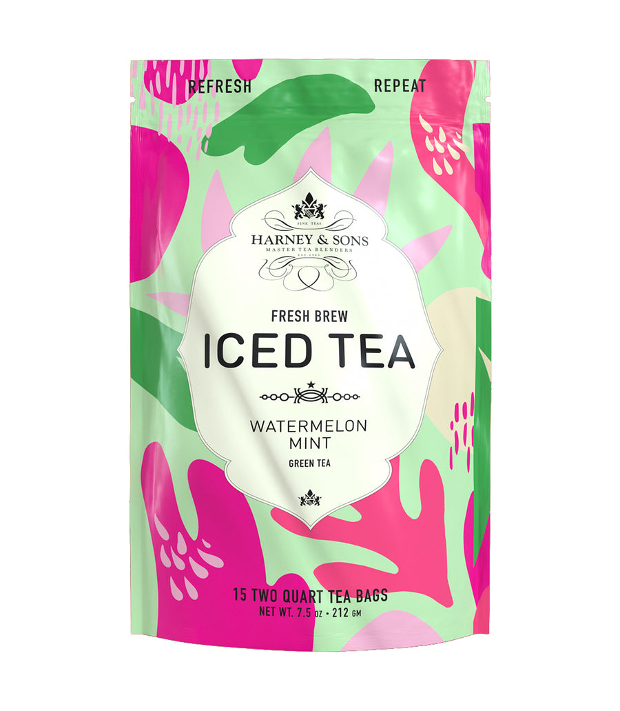 Watermelon Mint Fresh Brew Iced Tea -   - Harney & Sons Fine Teas
