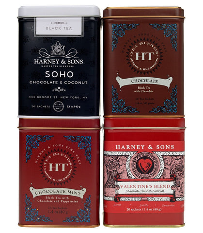 Chocolate Lover's Gift of Four Teas
