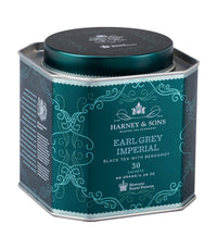 Earl Grey Imperial - Sachets HRP Tin of 30 Sachets - Harney & Sons Fine Teas