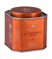 Hot Cinnamon Spice - Sachets HRP Tin of 30 Sachets - Harney & Sons Fine Teas