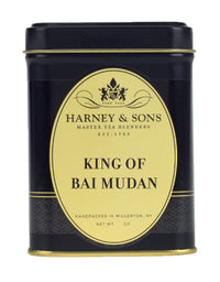 King of Bai Mudan - Loose 1.5 oz. Tin - Harney & Sons Fine Teas