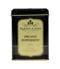 Organic Peppermint - Loose 1.5 oz. Tin - Harney & Sons Fine Teas