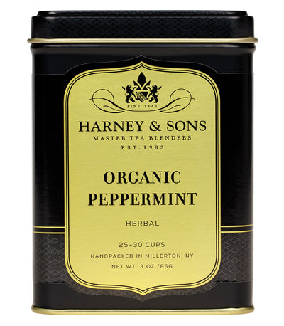 Organic Peppermint - Loose 3 oz. Tin - Harney & Sons Fine Teas