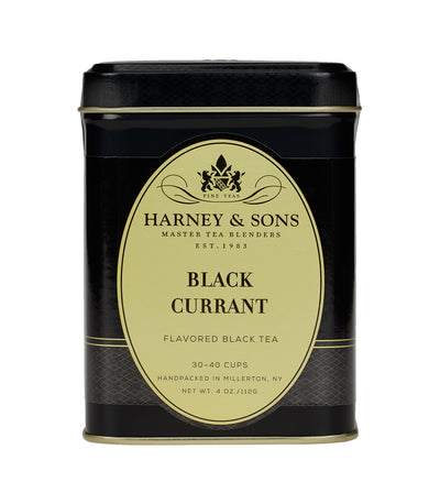 Black Currant - Loose 4 oz. Tin - Harney & Sons Fine Teas