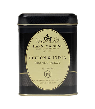 Orange Pekoe (Ceylon & India) - Loose 4 oz. Tin - Harney & Sons Fine Teas