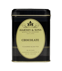 Chocolate Tea - Loose 4 oz. Tin - Harney & Sons Fine Teas
