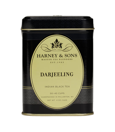 Darjeeling - Loose 4 oz. Tin - Harney & Sons Fine Teas