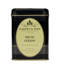 Decaf Ceylon (Decaf Orange Pekoe) - Loose 4 oz. Tin - Harney & Sons Fine Teas