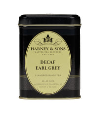 Decaf Earl Grey - Loose 4 oz. Tin - Harney & Sons Fine Teas