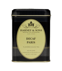 Decaf Paris - Loose 4 oz. Tin - Harney & Sons Fine Teas
