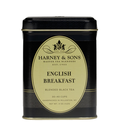 English Breakfast - Loose 4 oz. Tin - Harney & Sons Fine Teas