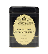 Herbal Hot Cinnamon Spice - Loose 4 oz. Tin - Harney & Sons Fine Teas