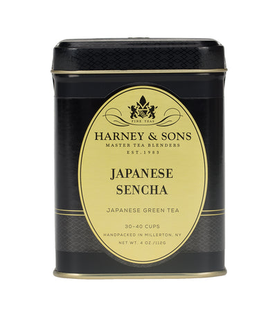 Japanese Sencha - Loose 4 oz. Tin - Harney & Sons Fine Teas