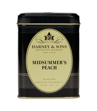 Midsummer's Peach (Decaf) - Loose 4  oz. Tin - Harney & Sons Fine Teas