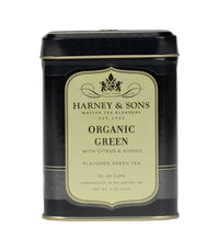 Organic Green with Citrus & Ginkgo - Loose 4 oz. Tin - Harney & Sons Fine Teas