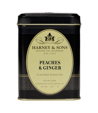 Peaches & Ginger - Loose 4 oz. Tin - Harney & Sons Fine Teas