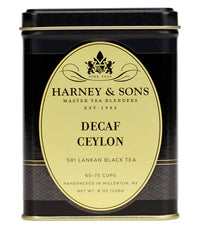 Decaf Ceylon (Decaf Orange Pekoe) - Loose 8 oz. Tin - Harney & Sons Fine Teas