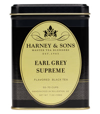 Earl Grey Supreme - Loose 7 oz. Tin - Harney & Sons Fine Teas