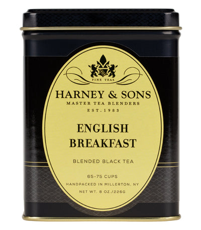 English Breakfast - Loose 8 oz. Tin - Harney & Sons Fine Teas