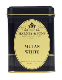 Mutan White - Loose 1.5 oz. Tin - Harney & Sons Fine Teas