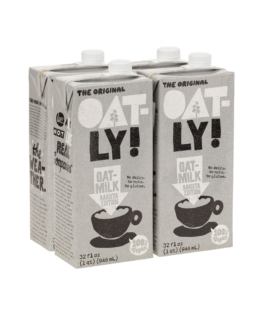 Oatly! - Barista Edition Oatmilk