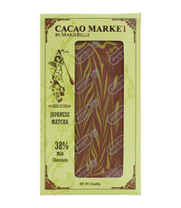 Mariebelle Chocolate Bars (Assorted) - Cacao Market Japanese Matcha Bar  - Harney & Sons Fine Teas