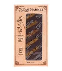 Mariebelle Chocolate Bars (Assorted) - Cacao Market Orange Peels  - Harney & Sons Fine Teas