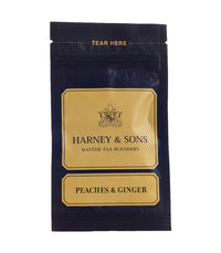 Peaches & Ginger - Loose Sample - Harney & Sons Fine Teas