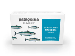 Patagonia Provisions - Mackerel - Roasted Garlic  - Harney & Sons Fine Teas