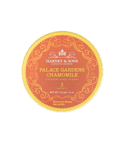 Palace Gardens Chamomile, Tagalong Tin of 3 Sachets