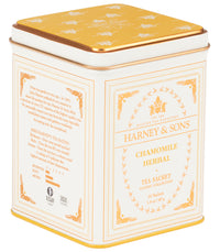 Chamomile Herbal, Classic Tin of 20 Sachets - Single Tin  - Harney & Sons Fine Teas