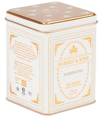 Darjeeling, Classic Tin of 20 Sachets - Single Tin  - Harney & Sons Fine Teas