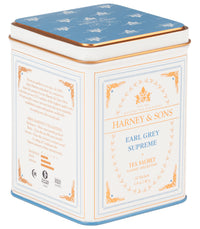 Earl Grey Supreme,  Classic Tin of 20 Sachets - Single Tin  - Harney & Sons Fine Teas