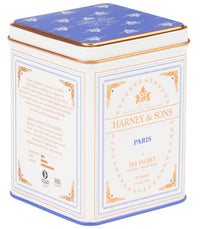 Paris - Sachets Classic Tin of 20 Sachets - Harney & Sons Fine Teas