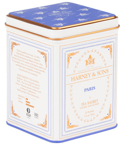 Paris, Classic Tin of 20 Sachets -   - Harney & Sons Fine Teas