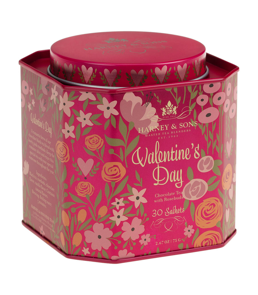 Valentine's Day - Tin of 30 Sachets -   - Harney & Sons Fine Teas