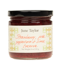 June Taylor Preserves - Strawberry, Lime & Pink Peppercorn  - Harney & Sons Fine Teas