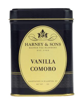 Decaf Vanilla Comoro - Loose 4 oz. Tin - Harney & Sons Fine Teas