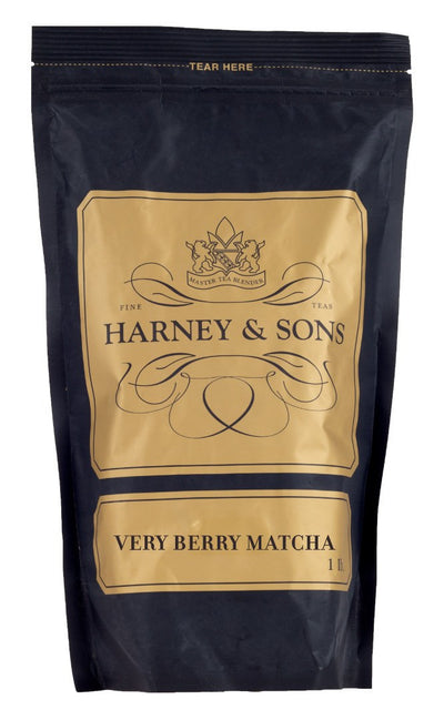 Very Berry Matcha - Loose 1 lb. Bag - Harney & Sons Fine Teas