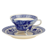 Madison Bay Cup & Saucer Sets (Assorted Colors) - Liberty Blue  - Harney & Sons Fine Teas