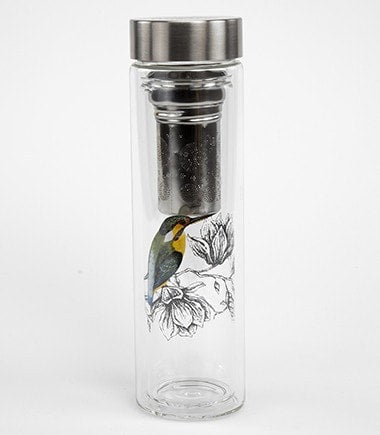 FlowTea Glass Tumbler with Infuser – Charme