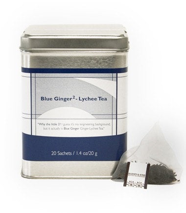 Blue Ginger, Tin of 20 Sachets