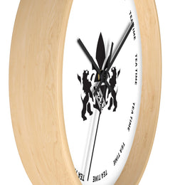 Wall clock - 10 in Wooden - Harney & Sons Fine Teas