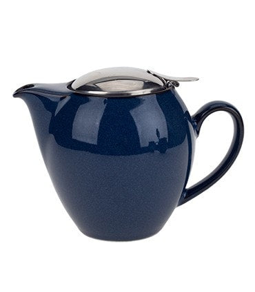 Bee House Large Round Teapot – Jeans Blue