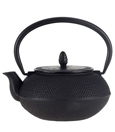 Iron Teapot – Nailhead Design, Black
